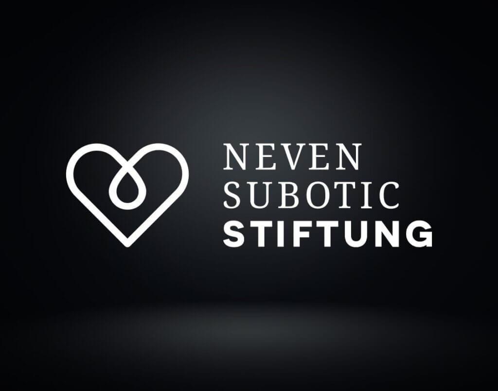 Die Abbildung zeigt das Logo von der Neven Subotic Stifung - Social Engagment von Schulz
