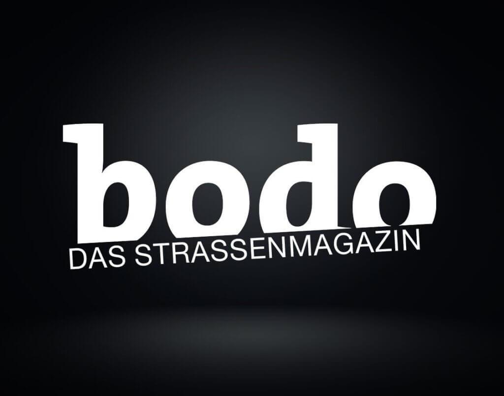 Die Abbildung zeigt das Logo von bodo das Strassenmagazin - Social Engagment von Schulz